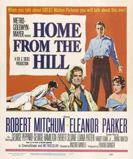 Home from the Hill - 27 x 40 Movie Poster - Style B