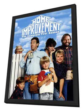 Home Improvement - 11 x 17 TV Poster - Style A - in Deluxe Wood Frame