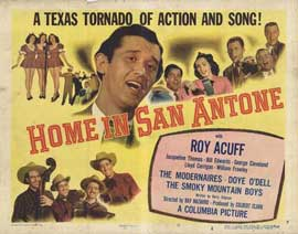 Home in San Antone - 27 x 40 Movie Poster - Style A