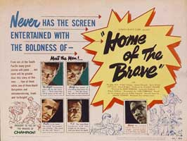 Home of the Brave - 22 x 28 Movie Poster - Half Sheet Style A
