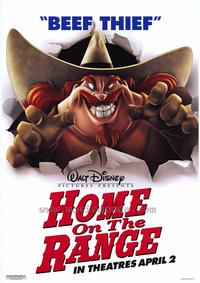 Home on the Range - 27 x 40 Movie Poster - Style B