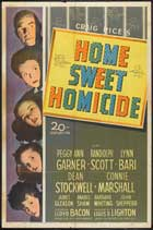 Home, Sweet Homicide - 43 x 62 Movie Poster - Bus Shelter Style A