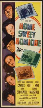 Home, Sweet Homicide - 14 x 36 Movie Poster - Insert Style A