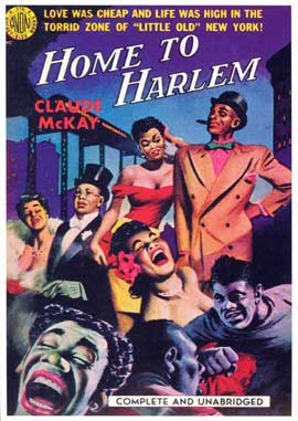 Home to Harlem - 11 x 17 Retro Book Cover Poster