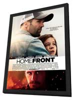 Homefront - 27 x 40 Movie Poster - Canadian Style A - in Deluxe Wood Frame