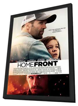 Homefront - 11 x 17 Movie Poster - Canadian Style A - in Deluxe Wood Frame