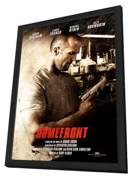 Homefront - 11 x 17 Movie Poster - Style A - in Deluxe Wood Frame