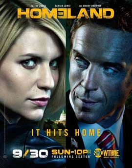 Homeland (TV) - 11 x 17 TV Poster - Style B
