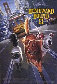 Homeward Bound 2: Lost in San Francisco - 27 x 40 Movie Poster - Style A