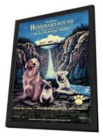 Homeward Bound: The Incredible Journey - 27 x 40 Movie Poster - Style A - in Deluxe Wood Frame