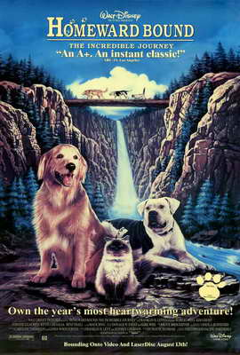 Homeward Bound: The Incredible Journey - 27 x 40 Movie Poster - Style A