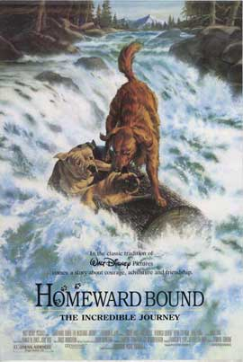 Homeward Bound: The Incredible Journey - 27 x 40 Movie Poster - Style B