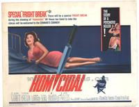 Homicidal - 22 x 28 Movie Poster - Half Sheet Style A