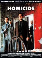 Homicide - 11 x 17 Movie Poster - French Style A
