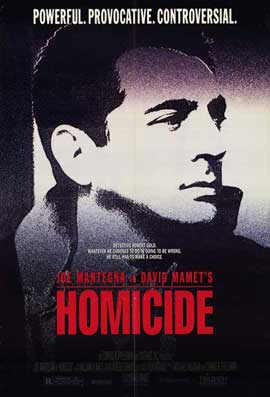 Homicide - 11 x 17 Movie Poster - Style A