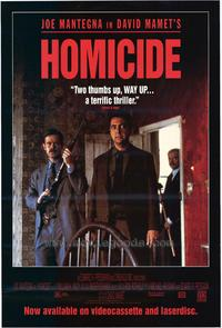 Homicide - 11 x 17 Movie Poster - Style B