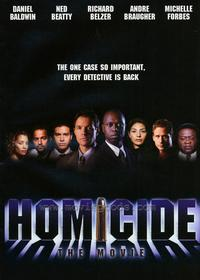 Homicide: The Movie - 43 x 62 Movie Poster - Bus Shelter Style A