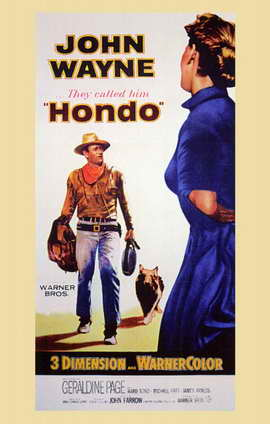 Hondo - 11 x 17 Movie Poster - Style A