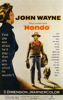 Hondo - 11 x 17 Movie Poster - Style B
