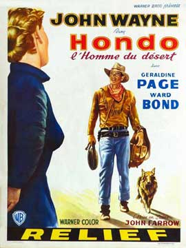 Hondo - 27 x 40 Movie Poster - Belgian Style A