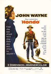 Hondo - 43 x 62 Movie Poster - Bus Shelter Style A
