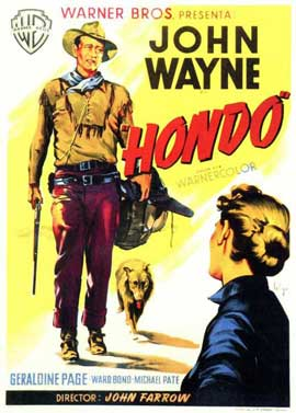 Hondo - 11 x 17 Movie Poster - Spanish Style A