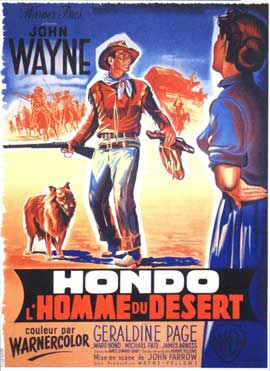 Hondo - 11 x 17 Movie Poster - French Style A