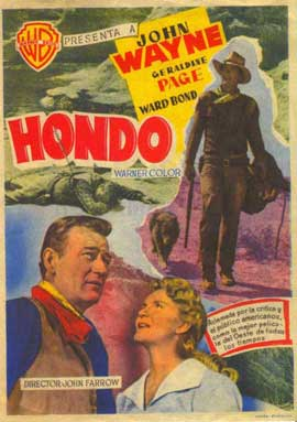 Hondo - 27 x 40 Movie Poster - Spanish Style A