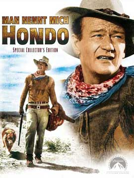 Hondo - 27 x 40 Movie Poster - German Style A