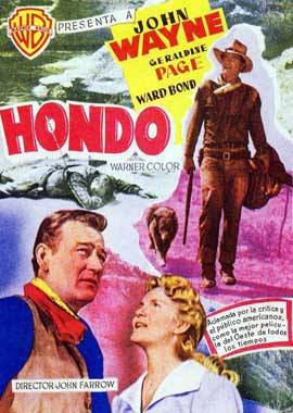 Hondo - 11 x 17 Movie Poster - Style C