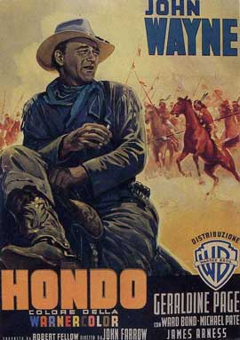 Hondo - 11 x 17 Movie Poster - Style D