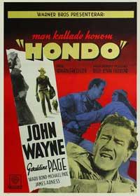 Hondo - 11 x 17 Movie Poster - Style E