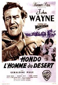 Hondo - 11 x 17 Movie Poster - French Style C