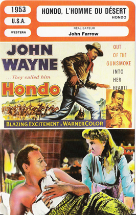 Hondo - 11 x 17 Movie Poster - French Style B