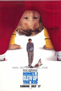 Honey, I Blew Up the Kid - 27 x 40 Movie Poster - Style B