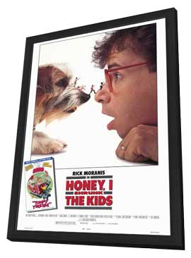 Honey, I Shrunk the Kids - 27 x 40 Movie Poster - Style A - in Deluxe Wood Frame