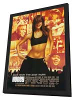 Honey - 11 x 17 Movie Poster - Spanish Style A - in Deluxe Wood Frame