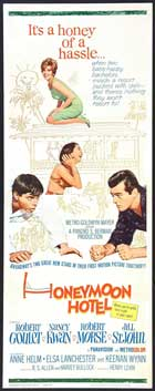 Honeymoon Hotel - 14 x 36 Movie Poster - Insert Style A