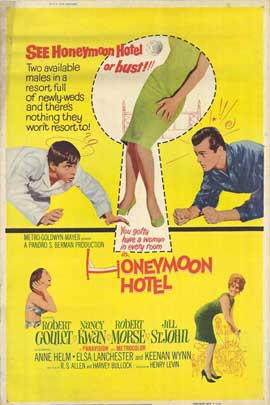 Honeymoon Hotel - 11 x 17 Movie Poster - Style A