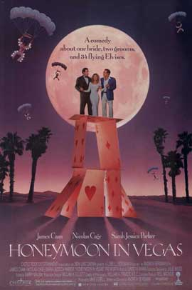 Honeymoon in Vegas - 11 x 17 Movie Poster - Style A