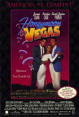 Honeymoon in Vegas - 11 x 17 Movie Poster - Style B