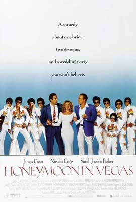 Honeymoon in Vegas - 27 x 40 Movie Poster - Style C
