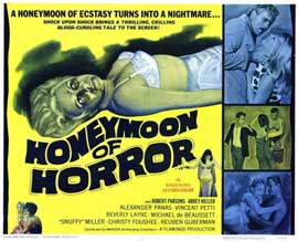 Honeymoon of Horror - 11 x 14 Movie Poster - Style A