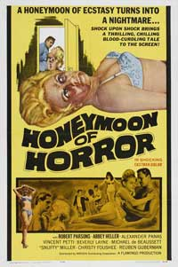 Honeymoon of Horror - 11 x 17 Movie Poster - Style A