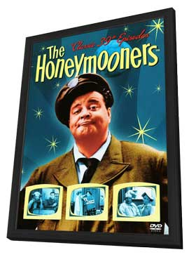 Honeymooners, The (TV) - 11 x 17 TV Poster - Style A - in Deluxe Wood Frame