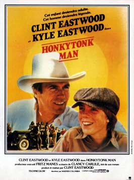 Honkytonk Man - 11 x 17 Movie Poster - French Style A
