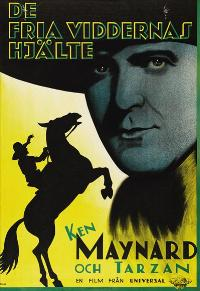 Honor of the Range - 11 x 17 Movie Poster - Swedish Style A