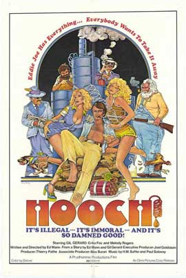 Hooch - 11 x 17 Movie Poster - Style A