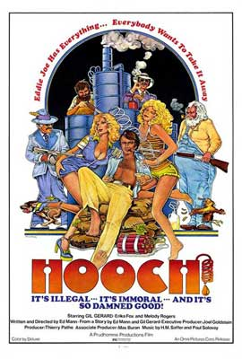 Hooch - 27 x 40 Movie Poster - Style A