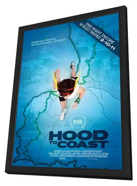 Hood to Coast - 11 x 17 Movie Poster - Style A - in Deluxe Wood Frame